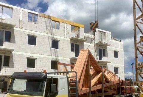 Výstavba realizovaná spoločnosťou Halama Holding, s.r.o.